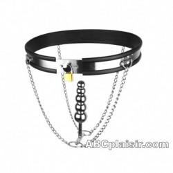 La ceinture maintien plug BDSM
