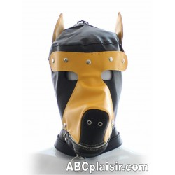 Masque cagoule collier puppy pets