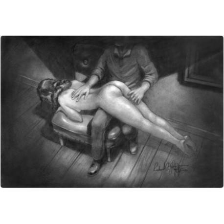 Histoire érotique sur la fessée et la discipline domestique