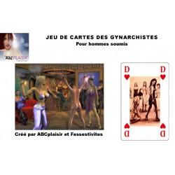 JEU DE CARTES DES GYNARCHISTES et soumis