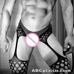 Pantyhose collants ouverts sexy