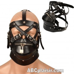 Cagoule d'esclave BDSM