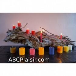 Lot 3 bougies spécial BDSM
