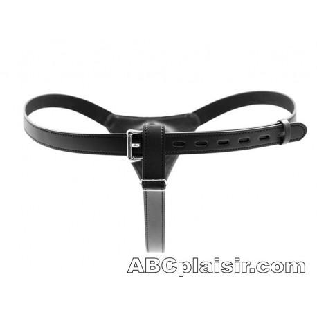 Gode ceinture anal sex court