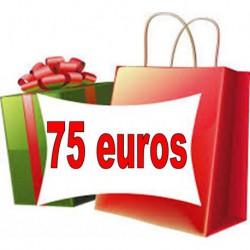 Bon cadeau 75 euros