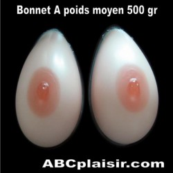 Faux seins en silicone Bonnet A pour travesti transgenre
