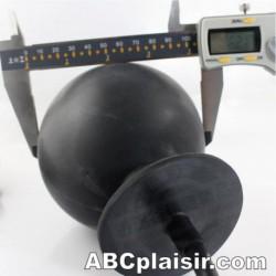 Butt plug géant électrique gonflable
