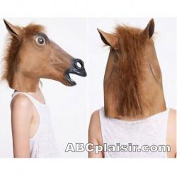La cagoule chevaline pets-play pony-play