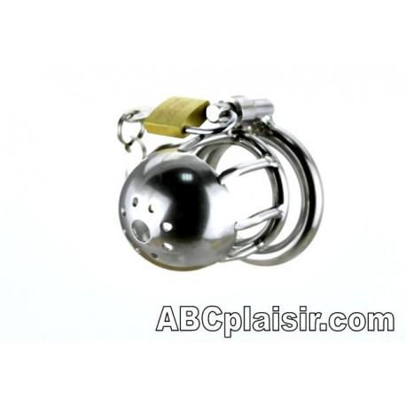 Cage de chasteté courte en métal
