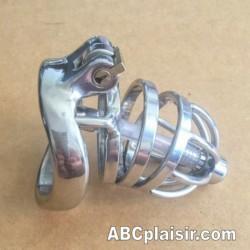 Cage de chasteté uretal ergonomique tension Ring 50mm