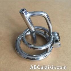 Cage de chasteté d'urètre luxe Ring 50mm